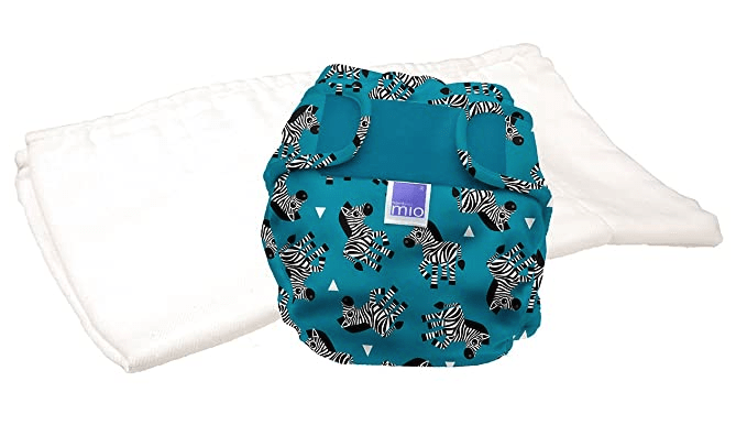 Bambino Mio, Miosoft Cloth Diaper Trial Pack, Zebra Crossing