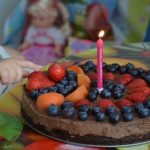 Small No Chocolate Mousse Cake - Ideal For Baby Birthday Cake